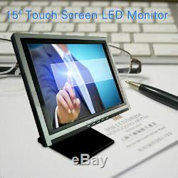 15 Zoll LED Moniteur Screen Tactile LCD POS VOD Caisse Industrie Display détail