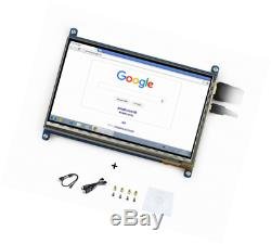 7inch HDMI LCD Monitor Raspberry pi Capacitive Touch Screen Display 1024600 Hig