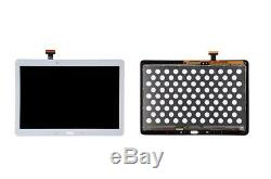 Bianco Full LCD Display Touch Screen Pour Samsung Galaxy Tab Pro 10.1 T520 T525