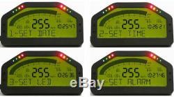 Dash Race Display OBD2 Bluetooth MULTI-FUNCTION DASHBOARD LCD SCREEN 7000RPM