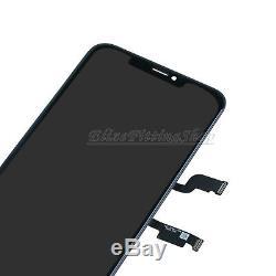 ÉCRAN VITRE LCD DISPLAY TOUCH SCREEN Pour APPLE IPHONE XS MAX Noir FRAME OUTILES