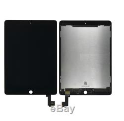 Ecran Complet LCD Display + Tactile Touch Screen Ipad Air 2 Noir Black
