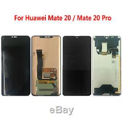 Écran LCD Pour Huawei Mate 20/ Mate 20 Pro 6.39 in LCD Display Touch Screen Noir