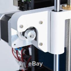 High Precision Printing Large LCD Screen Display 3D Printer DIY 3D Printer Kit#%