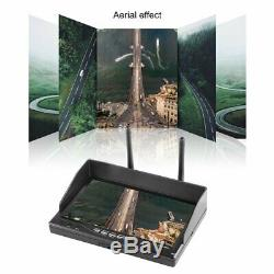 LCD-RX 5802 5.8GHz TFT LCD Screen Display Dual Receiver Monitor for RC FPVMs