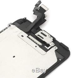 LL TRADER For iPhone 6 Plus Black LCD Display Touch Screen Digitizer Glass
