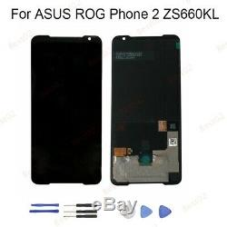 New Pour ASUS ROG Phone 2 ZS660KL LCD Display Touch Screen Digitizer Assembly JJ