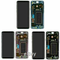 OLED Pour Samsung Galaxy S9 G960 LCD Display Touch Screen Digitizer Rahmen BT02