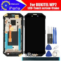 OUKITEL WP2 LCD Display+Touch Screen Digitizer+Frame Assembly 100% Original