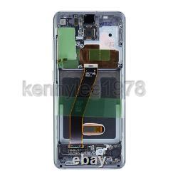 Original Samsung Galaxy s20 G980F G981F 5G LCD Display Touch Screen écran Gris