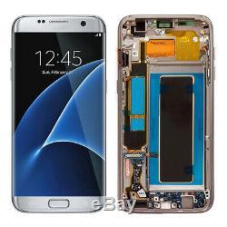 Per Samsung Galaxy S7 Edge G935A LCD Écran Display Screen Touch Frame+Tools H2FR