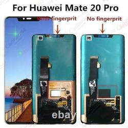 Pour 6.39 Huawei Mate 20 Pro LCD Display Touch Screen Digitizer Assembly BT02