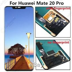 Pour 6.39 Huawei Mate 20 Pro LCD Screen Display+Touch Digitizer Assembly DL01
