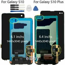 Pour Samsung Galaxy S10/ S10 Plus LCD Display Touch Screen Digitizer Replacement