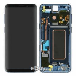 Pour Samsung Galaxy S8 G950 & S8 PLUS LCD Display Touch Screen Digitizer Frame T