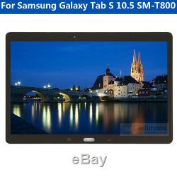 Pour Samsung Galaxy Tab S 10.5 SM-T800 LCD Display Touch Screen Digitizer J8G4