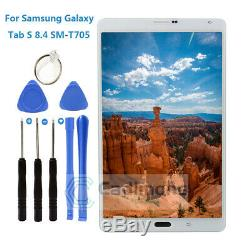 Pour Samsung Galaxy Tab S 8.4 SM-T705 4G LTE LCD Touch Display Screen +Tools H2F