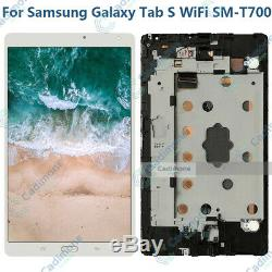 Pour Samsung Galaxy Tab S WiFi SM-T700 LCD Touch Display Touch Screen Digitizer