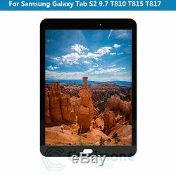 Pour Samsung Galaxy Tab S2 T810 815 817 819 LCD Display Touch Screen Digitizer