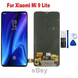 Pour Xiaomi Mi 9 Lite Écran OLED LCD Display Touch Screen avec Fingerprint Set