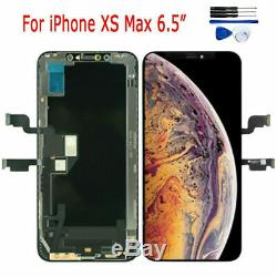 Pour iPhone XS MAX 6.5 LCD Display Touch Screen Écran Digitizer Replacement X7V