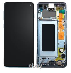 Samsung Galaxy S10 BLUE LCD Display+Touch Screen Digitizer G973