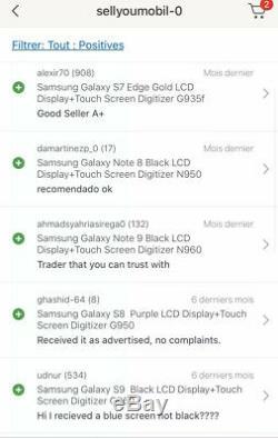 Samsung Galaxy S10 Noir LCD Display Screen Digitizer G973