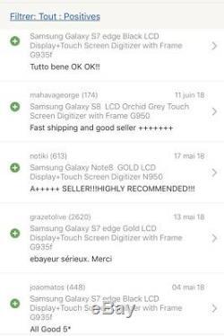 Samsung Galaxy S8 Black LCD Display+Touch Screen Digitizer G950