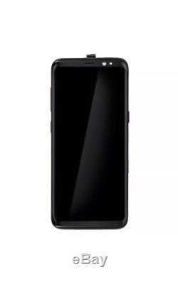 Samsung Galaxy S8 Black LCD Display+Touch Screen Digitizer with Frame G950