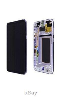Samsung Galaxy S8 Purple LCD Display+Touch Screen Digitizer G950