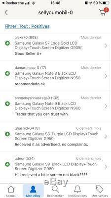 Samsung Galaxy S9 plus Black LCD Display+Touch Screen Digitizer G965