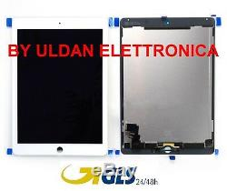 TOUCH SCREEN GLASS + LCD DISPLAY FOR Apple Ipad 6 Air 2 A1566 A1567 White